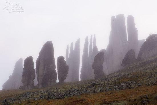 The cliffs of the Ulakhan-Sis Range, Yakutia, Russia, photo 15