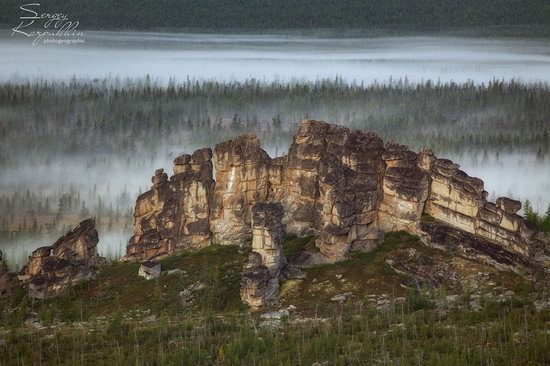 The cliffs of the Ulakhan-Sis Range, Yakutia, Russia, photo 3