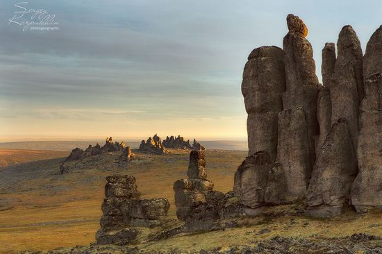 The cliffs of the Ulakhan-Sis Range, Yakutia, Russia, photo 6