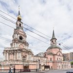 The Only Church in Moscow Designed by Peter the Great