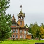 Astashovo Palace – One of the Best Wooden Houses in Russia