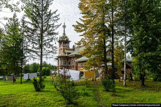 Astashovo Palace - One of the Best Wooden Houses in Russia, photo 10