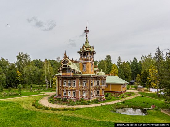 Astashovo Palace - One of the Best Wooden Houses in Russia, photo 5