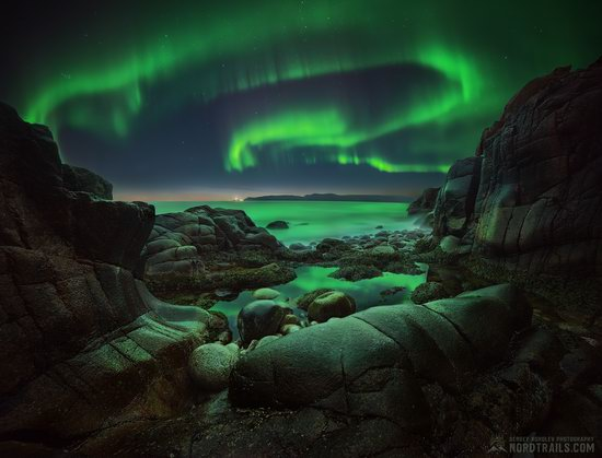Northern Lights in Teriberka, Murmansk Oblast, Russia, photo 1