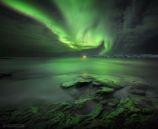 Northern Lights in Teriberka, Murmansk Oblast, Russia, photo 11