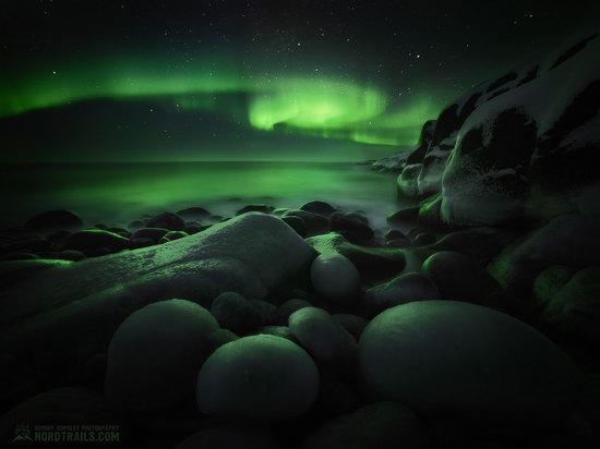 Northern Lights in Teriberka, Murmansk Oblast, Russia, photo 12