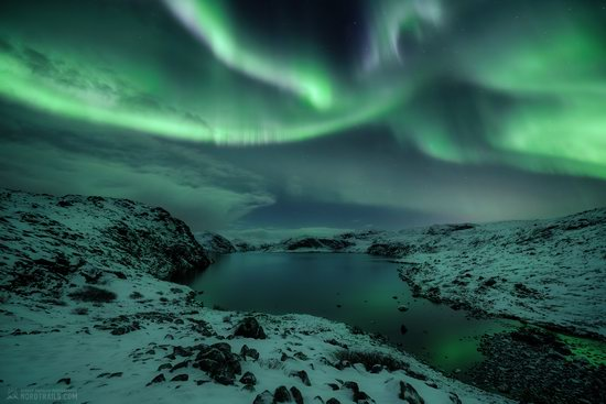 Northern Lights in Teriberka, Murmansk Oblast, Russia, photo 7