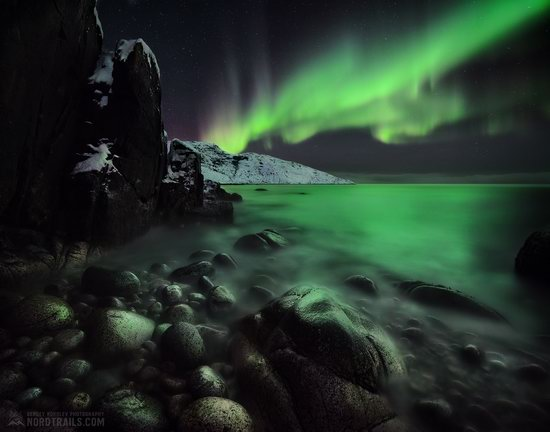 Northern Lights in Teriberka, Murmansk Oblast, Russia, photo 8
