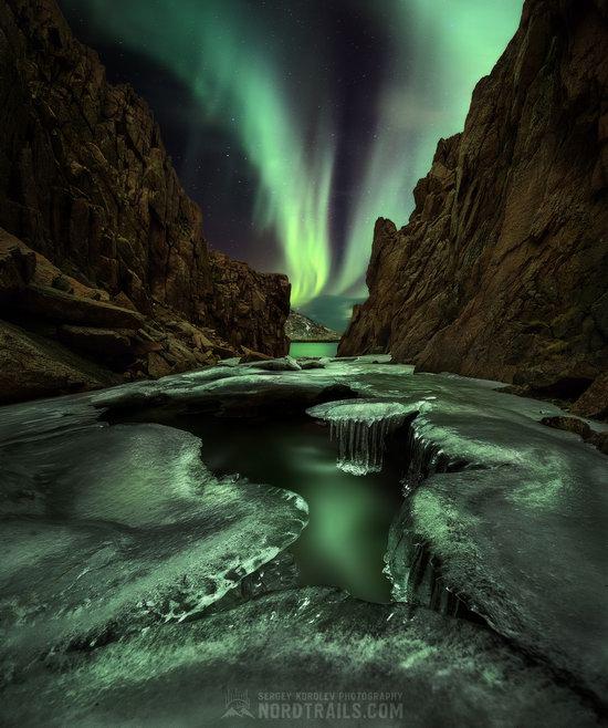 Northern Lights in Teriberka, Murmansk Oblast, Russia, photo 9