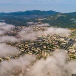 Yuzhno-Sakhalinsk – the view from above