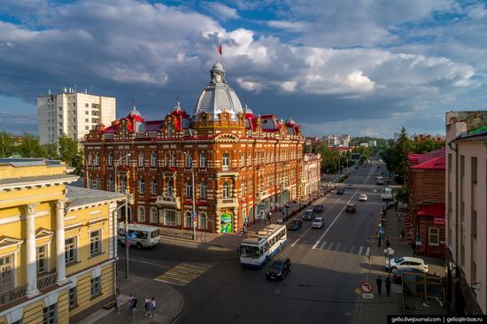 Tomsk, Russia - the view from above, photo 1