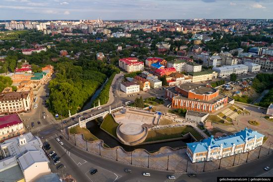 Tomsk, Russia - the view from above, photo 10