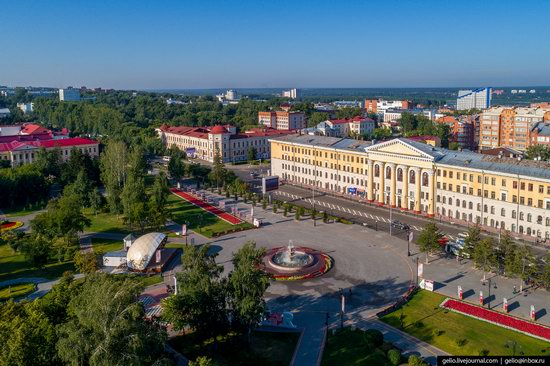 Tomsk, Russia - the view from above, photo 12