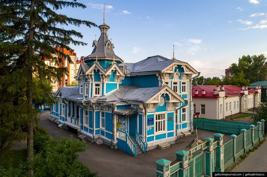 Tomsk, Russia - the view from above, photo 15