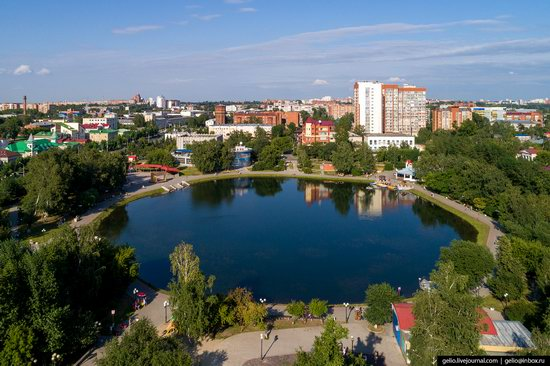 Tomsk, Russia - the view from above, photo 17