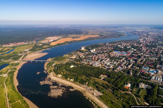 Tomsk, Russia - the view from above, photo 2