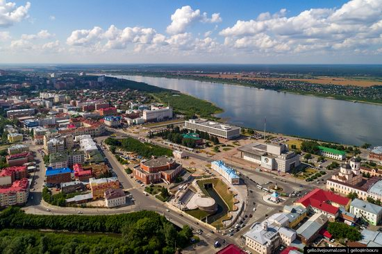 Tomsk, Russia - the view from above, photo 21