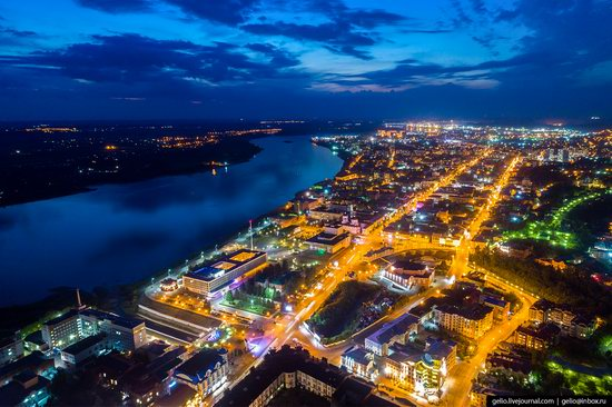 Tomsk, Russia - the view from above, photo 23
