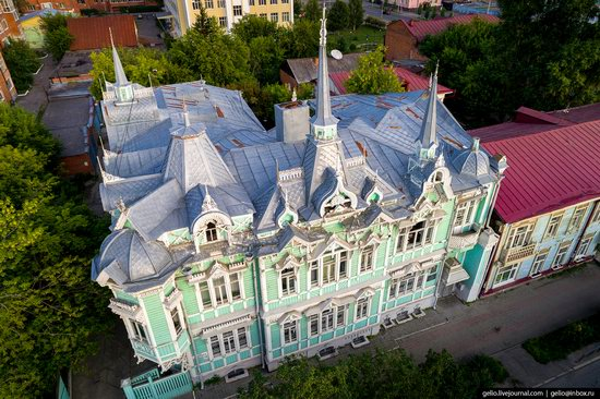 Tomsk, Russia - the view from above, photo 3