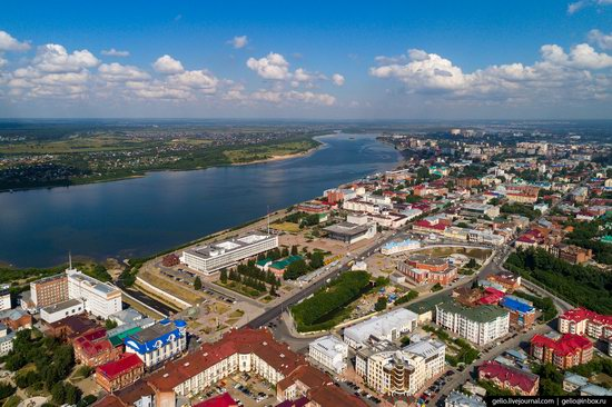 Tomsk, Russia - the view from above, photo 5
