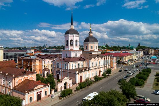 Tomsk, Russia - the view from above, photo 9