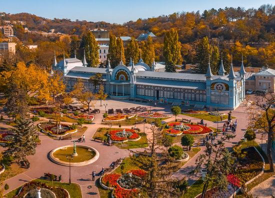 Tsvetnik - the Oldest Park in Pyatigorsk, Russia, photo 1
