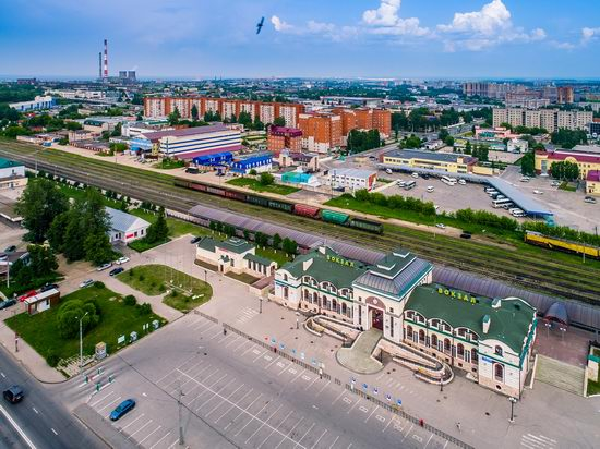 Cheboksary, Russia from above, photo 12