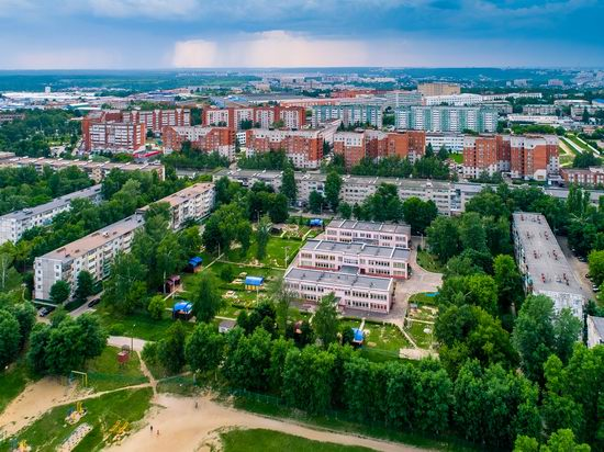 Cheboksary, Russia from above, photo 14