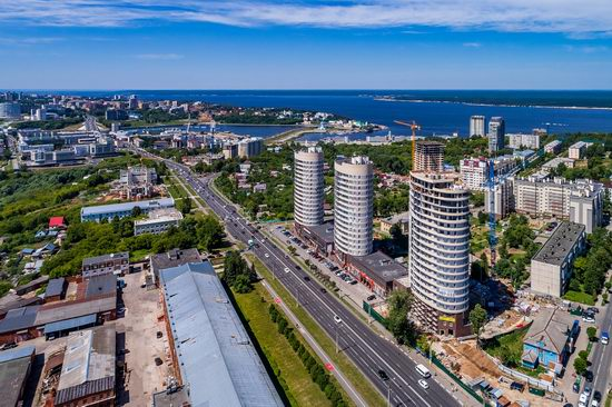 Cheboksary, Russia from above, photo 15