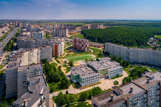 Cheboksary, Russia from above, photo 18