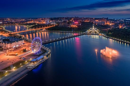 Cheboksary, Russia from above, photo 22