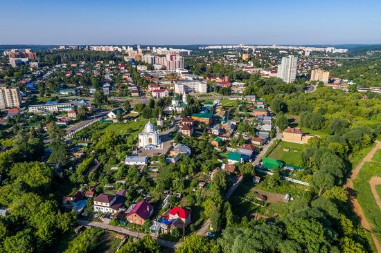 Cheboksary, Russia from above, photo 7