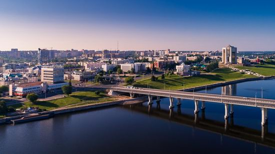 Cheboksary, Russia from above, photo 8