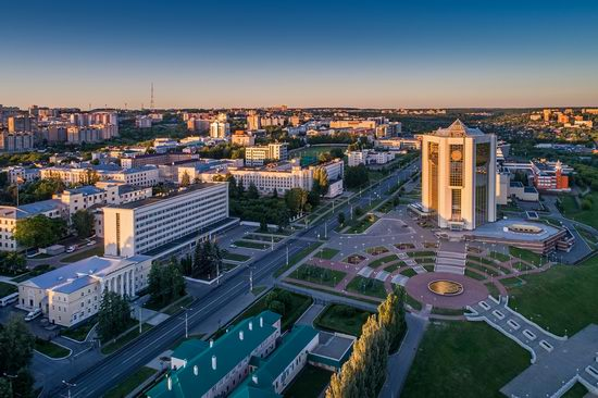 Cheboksary, Russia from above, photo 9