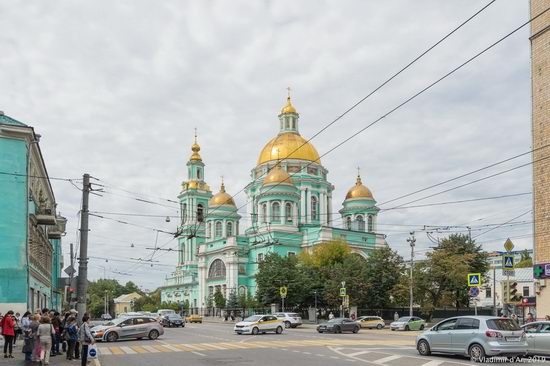 The Epiphany Cathedral in Yelokhovo, Moscow, Russia, photo 1