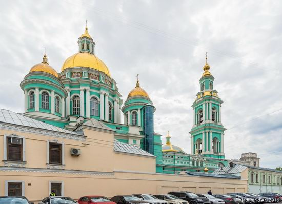 The Epiphany Cathedral in Yelokhovo, Moscow, Russia, photo 11