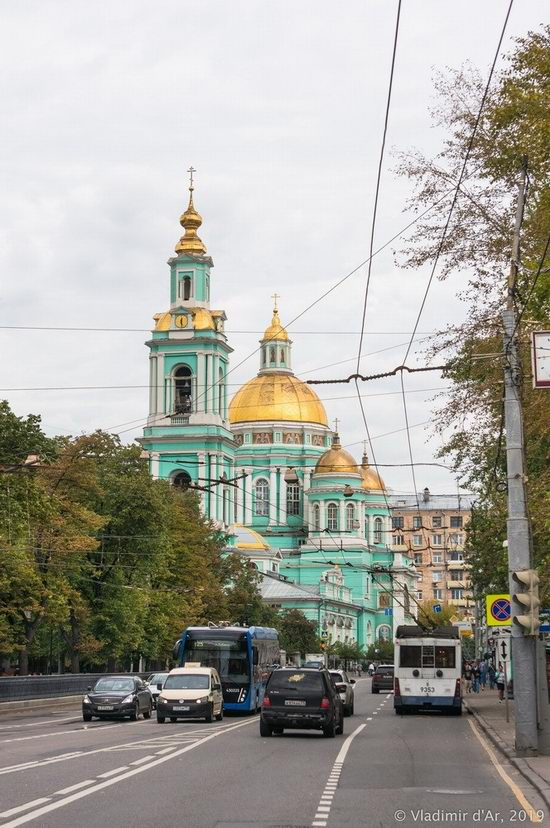 The Epiphany Cathedral in Yelokhovo, Moscow, Russia, photo 12