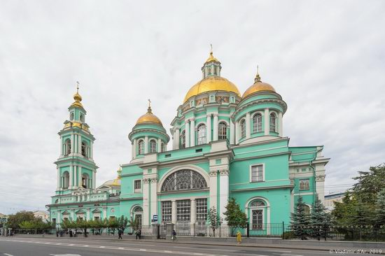 The Epiphany Cathedral in Yelokhovo, Moscow, Russia, photo 4