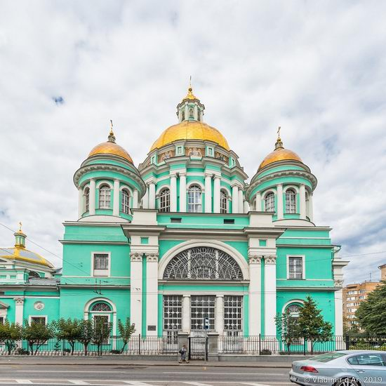 The Epiphany Cathedral in Yelokhovo, Moscow, Russia, photo 6