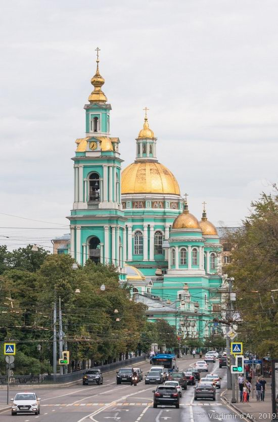 The Epiphany Cathedral in Yelokhovo, Moscow, Russia, photo 7
