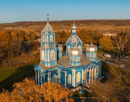Church of the Nativity of Mary in Rozhdestvenskaya, Stavropol Krai, Russia, photo 2