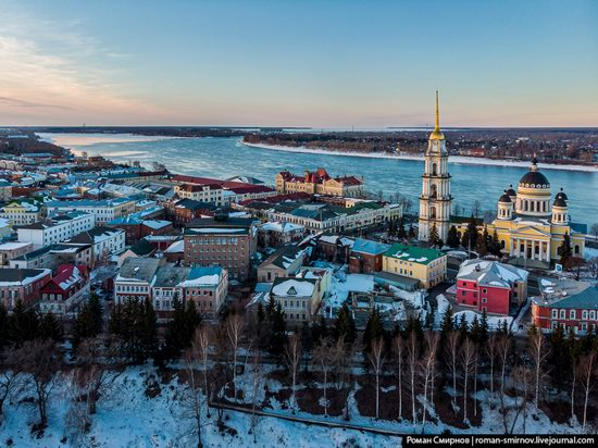 Rybinsk, Russia from above, photo 6