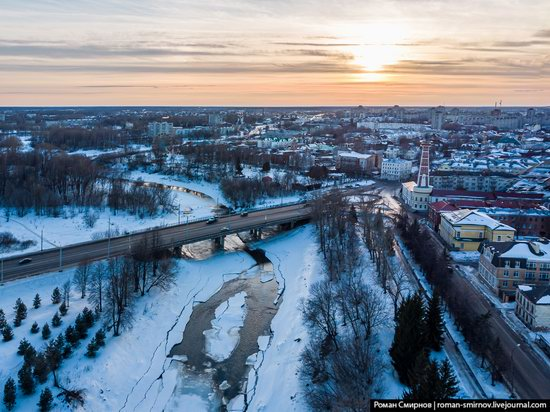 Rybinsk, Russia from above, photo 7