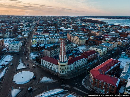 Rybinsk, Russia from above, photo 8