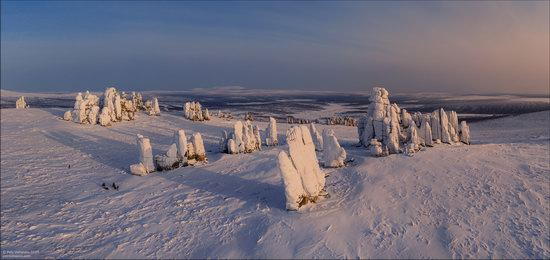 Snow Covered Stone Pillars of Ulakhan-Sis, Yakutia, Russia, photo 10