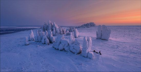 Snow Covered Stone Pillars of Ulakhan-Sis, Yakutia, Russia, photo 17
