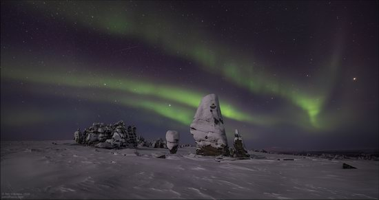 Snow Covered Stone Pillars of Ulakhan-Sis, Yakutia, Russia, photo 18