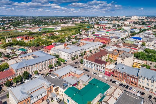 Syzran, Russia - the view from above, photo 10