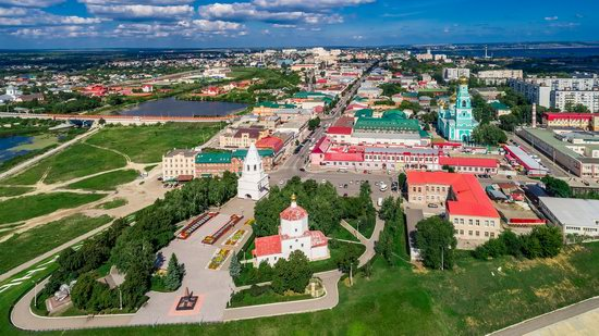 Syzran, Russia - the view from above, photo 11