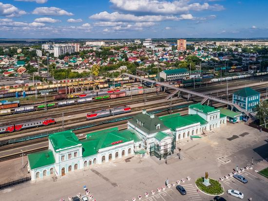 Syzran, Russia - the view from above, photo 12